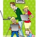 Τα παιδιά της μαμάς WAHM, ο υπολογιστής και το Ίντερνετ