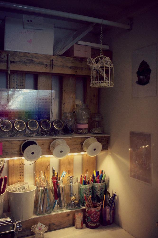 εργαστήριο κοσμημάτων στο σπίτι οργάνωση